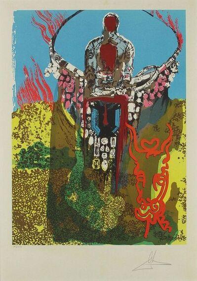 Salvador Dalí, 'The Bullfighter (The Golden Calf), Lithograph paper contemporary art', 1980
