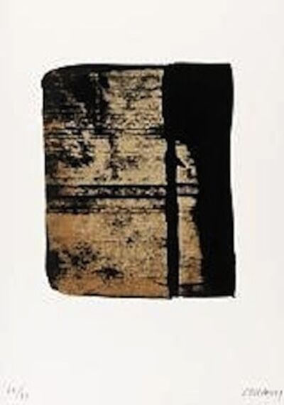 Pierre Soulages, 'Serigraphie no. 11 (from Sur le mur d'en face)', 1979
