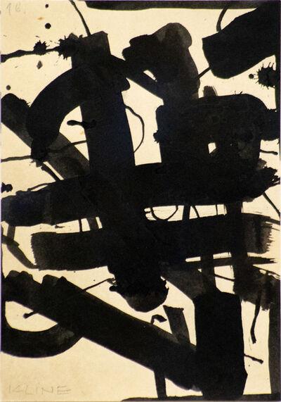 Franz Kline, 'Untitled', 1951