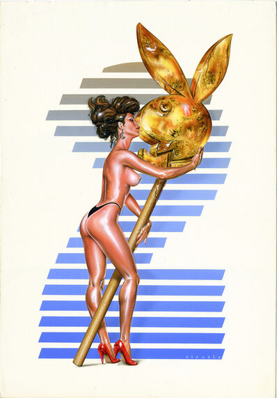Ciruelo Cabral, 'Playboy, I Love You', 1992