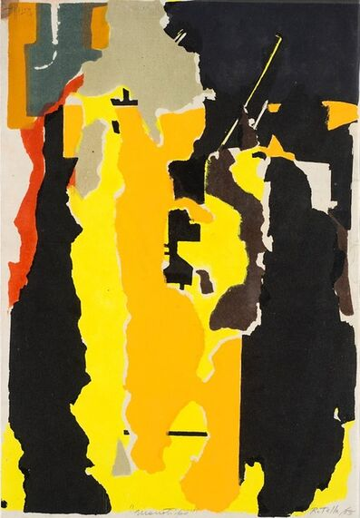 Mimmo Rotella, 'Jazz Session', 1955
