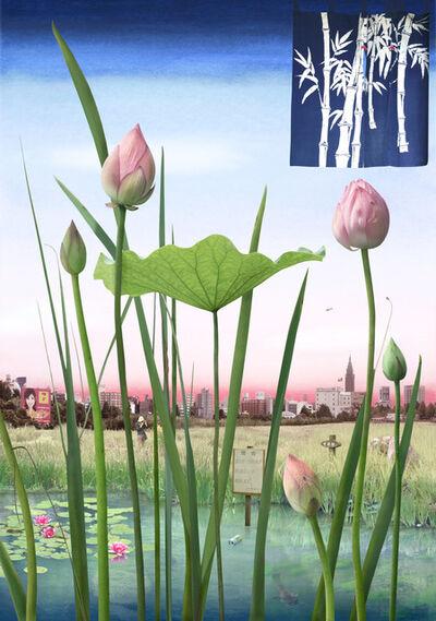 Emily Allchurch, 'Tokyo Story 1: Lotus Garden (after Hiroshige)', 2011