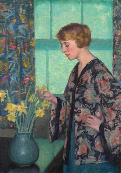 Lee Lufkin Kaula, 'The Green Shade', 19th -20th Century