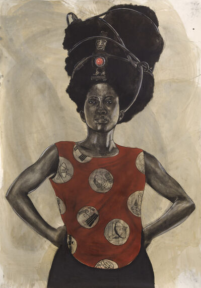 Robert Pruitt, 'Woman with Halo', 2015