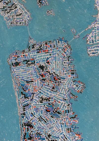 Barbara Macfarlane, 'San Fransisco Ocean Blue,', 2019