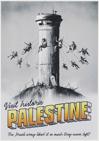 After Banksy, 'Visit Historic Palestine Poster', 2018