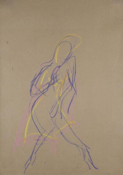 Ernst Ludwig Kirchner, 'Wigman-Tänzerin', ca. 1926