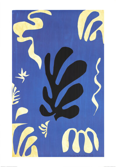 Henri Matisse, 'Composition Fond Bleu', (Date unknown)