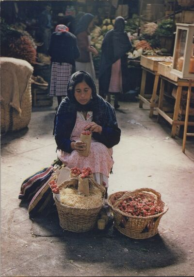 Ellen Auerbach & Eliot Porter, 'Strawberry Woman, Morelia, Mexico', 1956