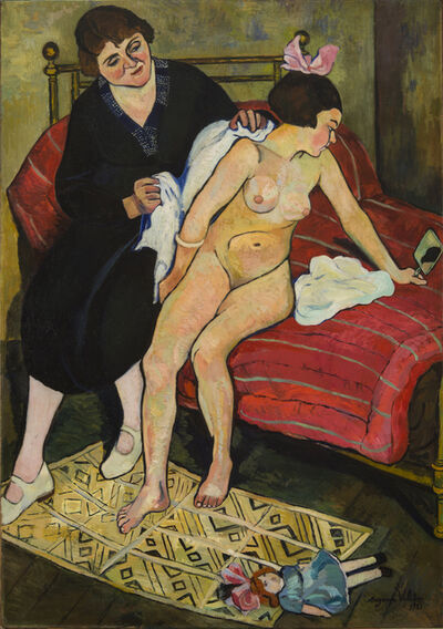 Suzanne Valadon, 'The Abandoned Doll', 1921