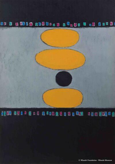 Kim Whanki, '12-Ⅲ-68 #2', 1968