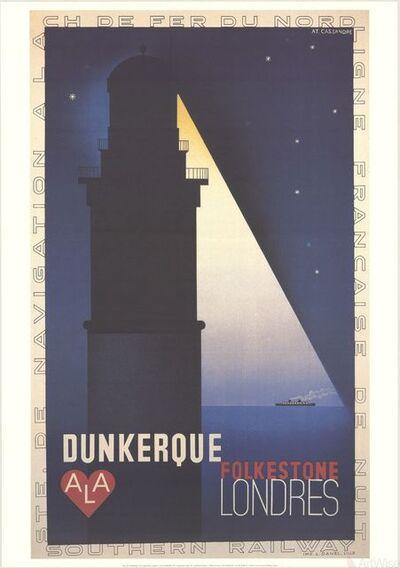 A.M. Cassandre, 'SS Dunkerque-Londres', 1998