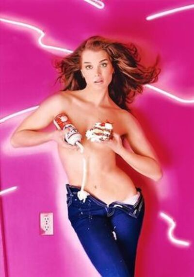 David LaChapelle, 'Brook Shields: Whipped Cream', 1995