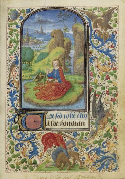 Lievan van Lathem, 'Saint John on Patmos', 1469