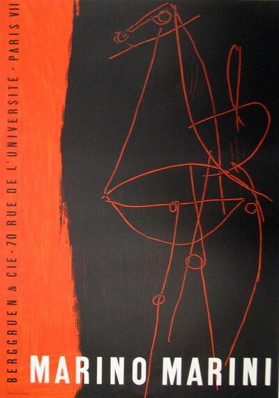 Marino Marini, 'Berggruen and Cie', 1955