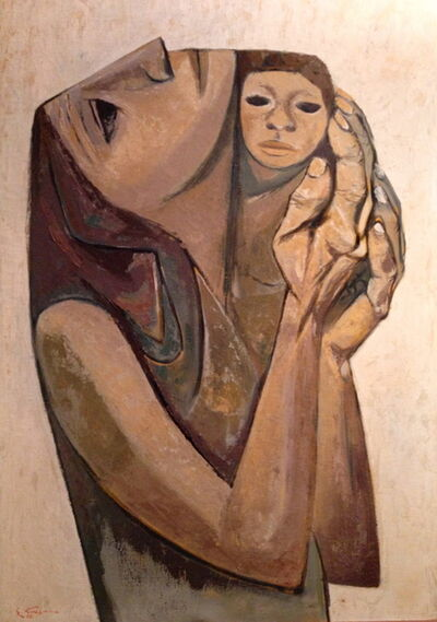 Eduardo Kingman, 'Motherhood', 1967