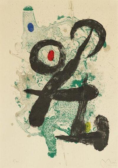 Joan Miró, 'Le Faune', 1963