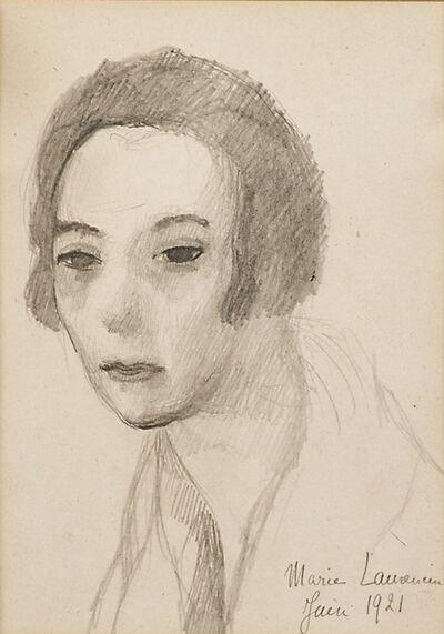 Marie Laurencin, 'Self-Portrait', 1921