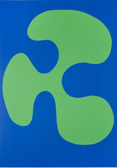 Leon Polk Smith, 'COLOR FORMS (G)', 1974