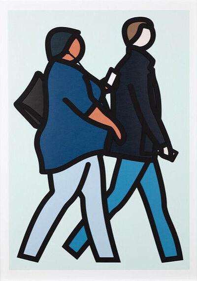 Julian Opie, 'New York Couple 2', 2019