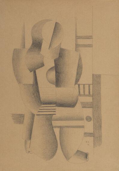 """Fernand Léger, 'Etude pour """"Femme à genoux""""', 1921"""