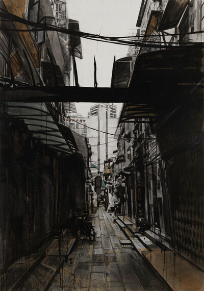 Miha Strukelj, 'Alley V', 2018