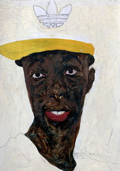 Amoako Boafo, 'Yaw Abedi', 2019