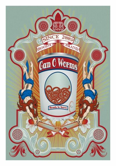 Billy Ma, 'Can Of Worms', 2013