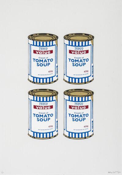 Banksy, 'Soup Cans Quad (Cream Paper)', 2006