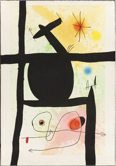 Joan Miró, 'La Calebasse', 1969