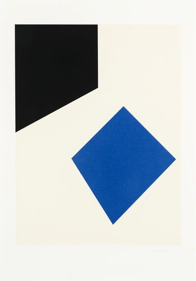 Guido Molinari, 'Untitled (blue)', 2001
