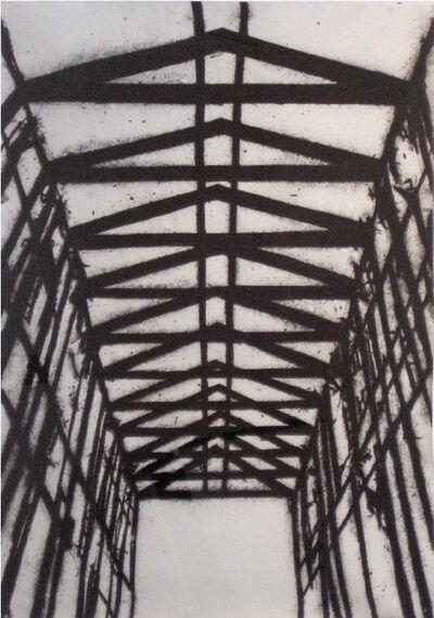 Tony Bevan, 'Rafters', 2001