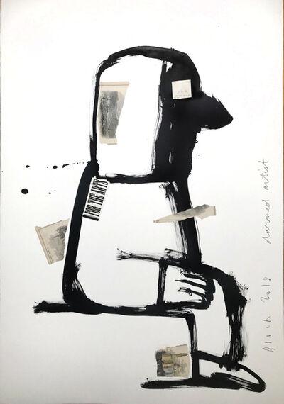 Serge Bloch, 'Darned Artist', 2018