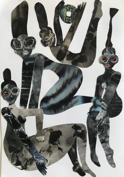 Gherdai Hassell, 'Between ourselves', 2021