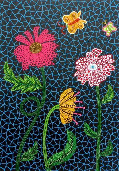 Yayoi Kusama, 'Flowers', 2002