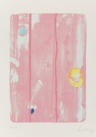 Helen Frankenthaler, 'Reflections VIII, from Reflections Series', 1995