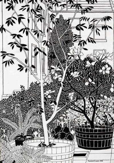 Norman Gilbert, 'Tubs, Trees and Tenements B&W', 2010