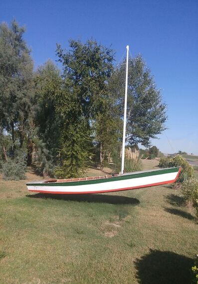 Alberto Magrin, 'Italian boat', 2019