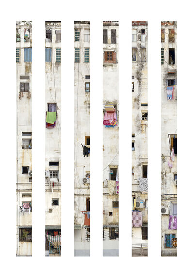 Stéphane Couturier, 'Alger – Climat de France – Polyptique',  2015