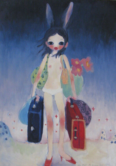 Aya Takano, 'Mail Mania Mami's summertime,move with a rabbit', 2006