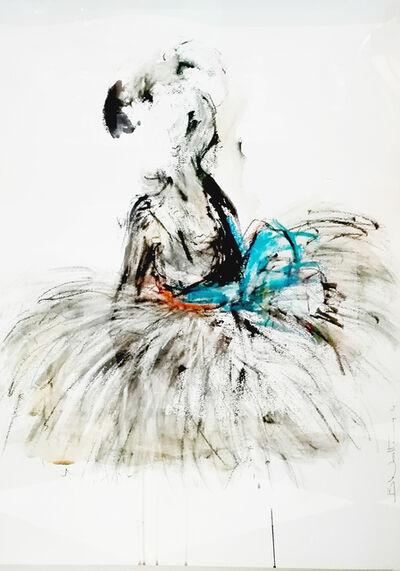 Bonnie Walters, 'Ballerina on Knees'