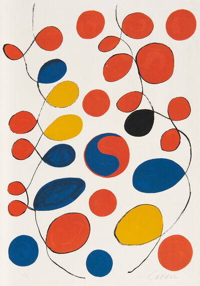 Alexander Calder, 'Loops and Yin Yang', 1969