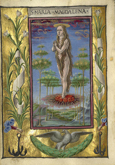 Taddeo Crivelli, 'Mary Magdalene Borne Aloft', 1469