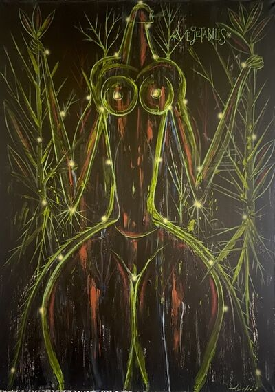 José Bedia, 'Vegetabilis', 2017