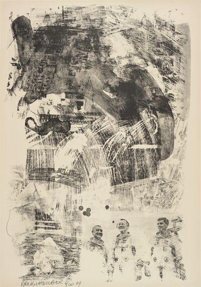 Robert Rauschenberg, 'Brake (Stoned Moon)', 1969