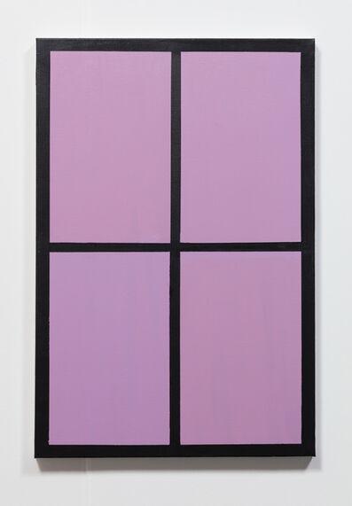 Meg Cranston, 'Rose Violet Window', 2017