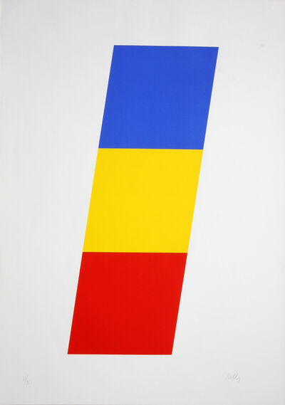 Ellsworth Kelly, 'Blue Yellow Red', 1970