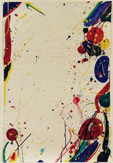 Sam Francis, 'Bright Ring Drawing (Untitled) (Colour Drawing) ', 1965