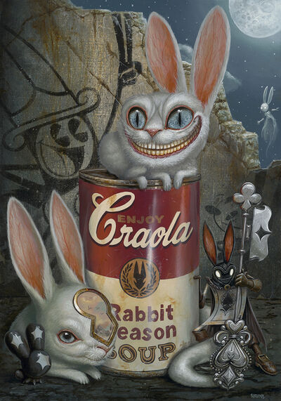 Greg 'Craola' Simkins, 'Rabbit Season Soup', 2020