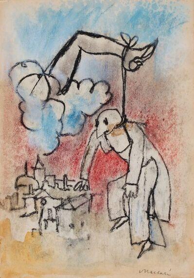 Mino Maccari, 'Suspension', 1958